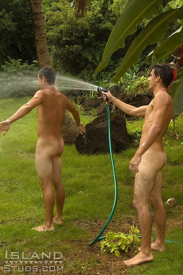 Island-Studs-Brian-and-Darren-Straight-Surfers-Jerking-Off-Their-Big-Cocks-and-Big-Balls-Amateur-Gay-Porn-09 Straight Young Surfer Buddies Jerking Off Together
