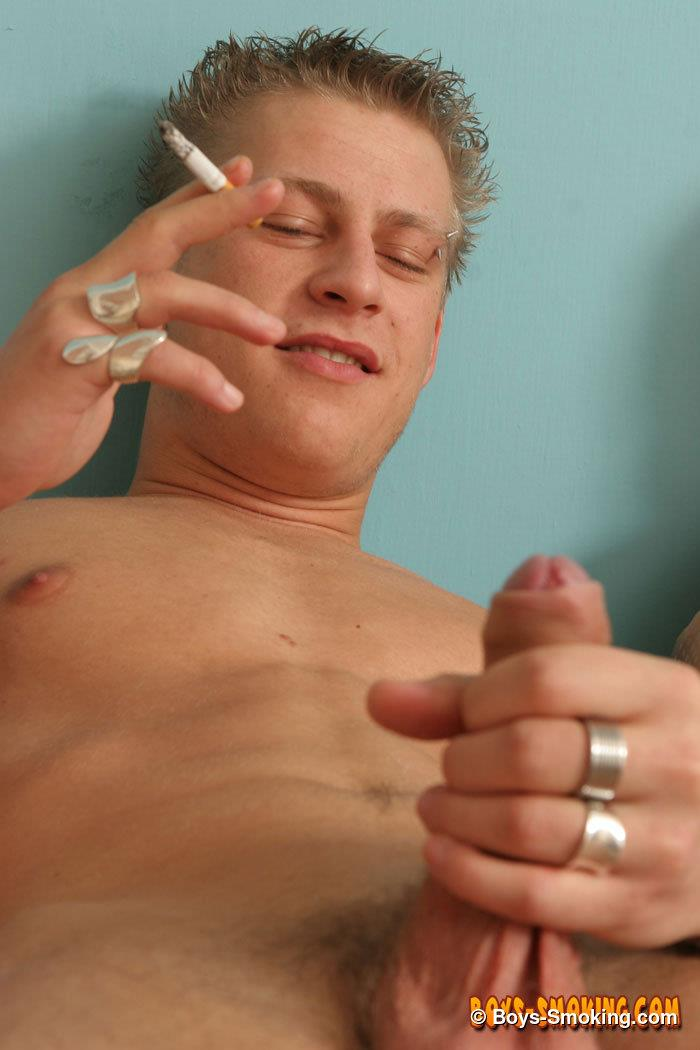 Boys-Smoking-Keith-Ledger-Best-Friends-Jerking-Off-Big-Uncut-Cocks-Amateur-Gay-Porn-11 Best Friends Jerking Off Together While Smoking