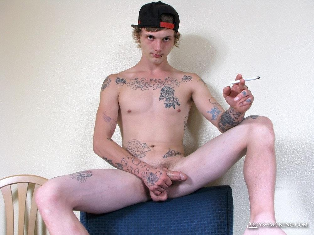 Boys-Smoking-Mavis-Redneck-Skater-Punk-Jerking-His-Thick-Cock-Amateur-Gay-Porn-14 Redneck Skater Punk Smokes While Stroking His Thick Dick